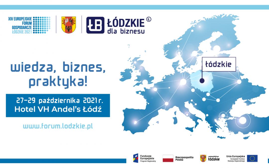 Europejskie Forum Gospodarcze w Łodzi już pod koniec października